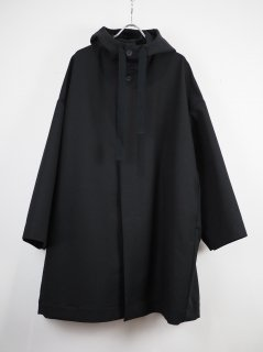 <img class='new_mark_img1' src='//img.shop-pro.jp/img/new/icons47.gif' style='border:none;display:inline;margin:0px;padding:0px;width:auto;' />[SHINYA KOZUKA] HOODED COAT -BLACK-