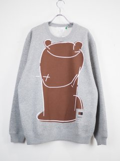 [SPOKEN WORDS PROJECT] STANDARD SWEAT -KUMA GRAY-