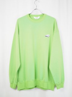 <img class='new_mark_img1' src='//img.shop-pro.jp/img/new/icons14.gif' style='border:none;display:inline;margin:0px;padding:0px;width:auto;' />[DIGAWEL] SWEATSHIRT -L.GREEN-