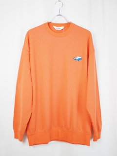 <img class='new_mark_img1' src='//img.shop-pro.jp/img/new/icons14.gif' style='border:none;display:inline;margin:0px;padding:0px;width:auto;' />[DIGAWEL] SWEATSHIRT -ORANGE-