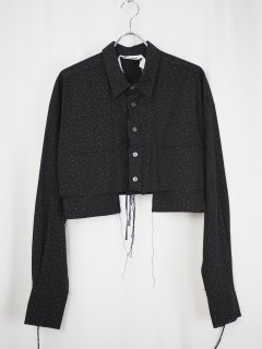 [MIDORIKAWA] SHIRT 01 -BLACK-