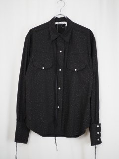 [MIDORIKAWA] SHIRT 03 -BLACK-