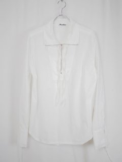 [MIDORIKAWA] SHIRT 02 -WHITE-