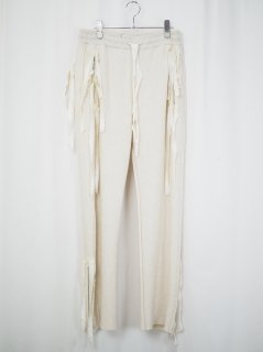 [MIDORIKAWA] SWEAT PANTS -IVORY-