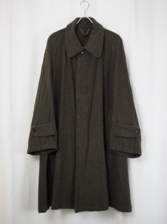 [MAINU] OVER COAT -KHAKI-