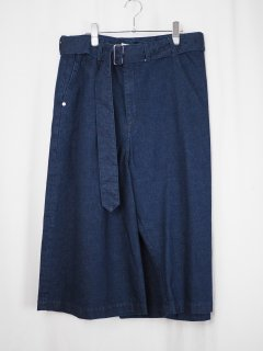 [RIDDLEMMA] SQUARE PANTS -INDIGO-