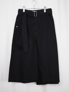 [RIDDLEMMA] SQUARE PANTS -BLACK-