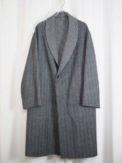 [URU] DOUBLEFACE COAT -GRAY-