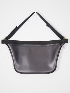 [MACROMAURO] PLANE BAG LARGE -BLACK-