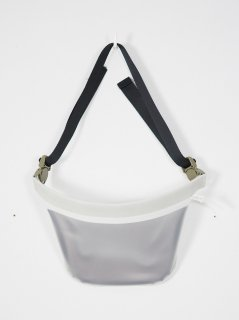 [MACROMAURO] PLANE BAG SMALL -WHITE-