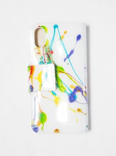[MACROMAURO] HIGH PAINT IPHONE X・Xs CASE -A-