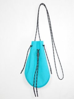 [吉岡衣料店] DRAWSTRING BAG S -TURQUOIS BLUE-