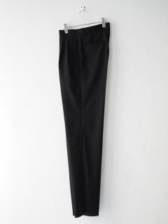 [HERILL] EMPERORPOPLIN SLACKS -BLACK-