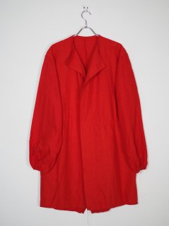 [DEAD STOCK] 90s BRITISH UNFINISHED MODS PARKA LINNER -RED-