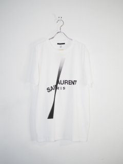 <img class='new_mark_img1' src='//img.shop-pro.jp/img/new/icons14.gif' style='border:none;display:inline;margin:0px;padding:0px;width:auto;' />[BLACK SCORE] SAINT LAURENT SLASH -WHITE-