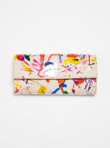 [MACROMAURO] NUME PAINT WALLET LONG
