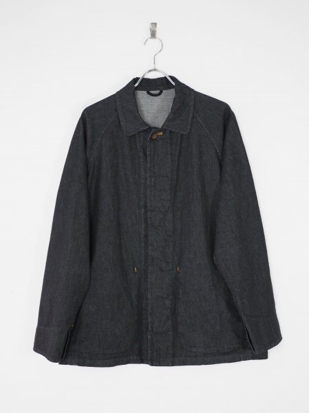 [well] CHORE JACKET 3 -NAVY-