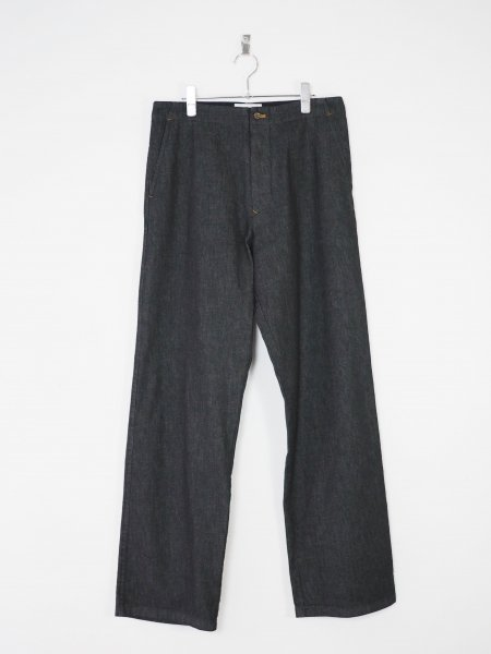 40%OFF[well] CHORE PANTS -NAVY-