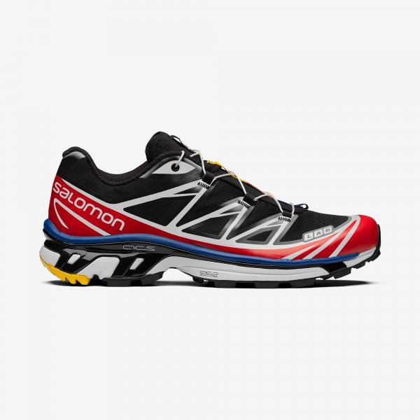 <img class='new_mark_img1' src='https://img.shop-pro.jp/img/new/icons14.gif' style='border:none;display:inline;margin:0px;padding:0px;width:auto;' />[SALOMON SNEAKERS] XT-6 RACING -BLACK/WHITE/RED-