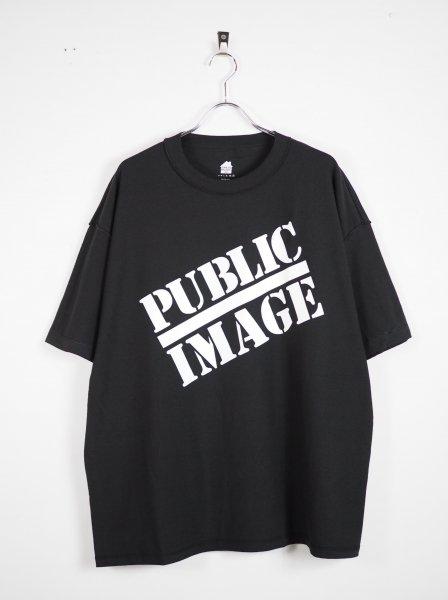 [IS-NESS MUSIC] PUBLIC IMAGE T-SHIRT -BLACK-