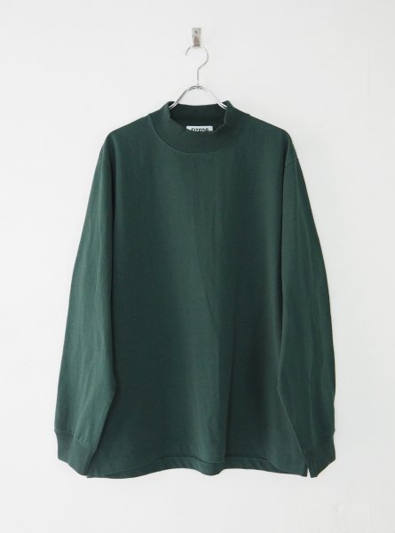<img class='new_mark_img1' src='https://img.shop-pro.jp/img/new/icons14.gif' style='border:none;display:inline;margin:0px;padding:0px;width:auto;' />[FITFOR] MOCK NECK LONG SLEEVE TEE -GREEN-