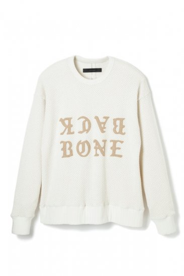ALANS HONEYCOMB KNIT FISHERMANS SWEATER