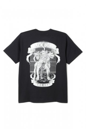 YEAR OF THE CERBERUS COTTON PRINT T-SHIRT