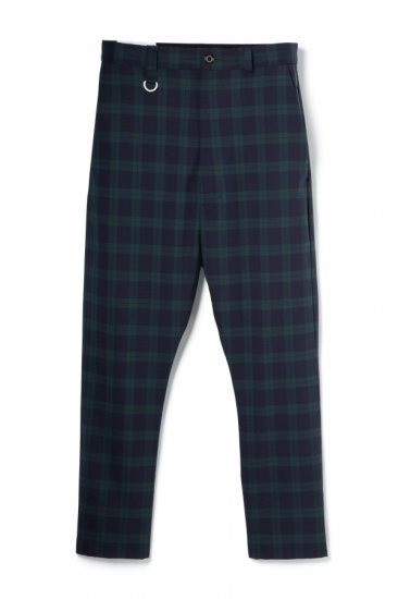 WASHABLE WOOL TROPIC SARROUEL TROUSERS
