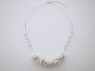 ◆snow necklace