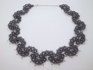 ◆tatting lace choker