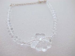◆flower glass bracelet