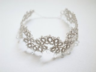 ◆tatting lace bracelet