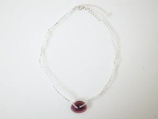 ◆water glass necklace