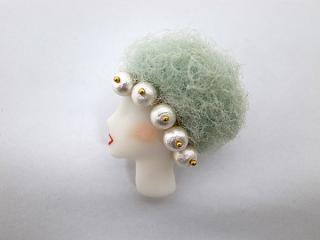 ◆LADY brooch L3