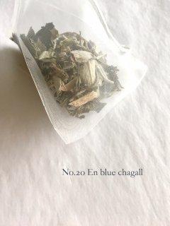 No.20 En blue Chagall    シャガールブルーのかけら