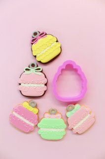New!【 Macaron 】Cookie cutter ¥850( 税込¥918)