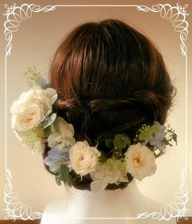 結婚式 オーダーメイド 髪飾り