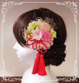 成人式用オーダーメイド 和装髪飾り タッセル