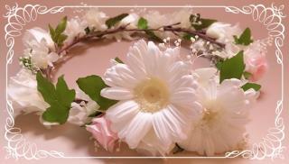 結婚式 オーダーメイド 花冠