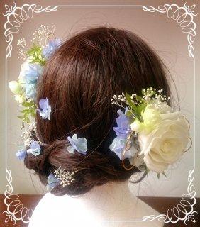 成人式用オーダー髪飾り