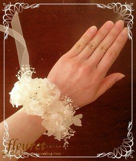 紫陽花のリストレット・リストブーケ