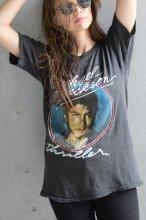 80s Michael Jackson(マイケルジャクソン)パキスタンコットンTシャツ