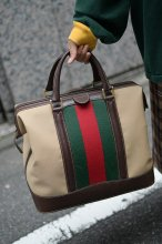 <img class='new_mark_img1' src='//img.shop-pro.jp/img/new/icons14.gif' style='border:none;display:inline;margin:0px;padding:0px;width:auto;' />OLD GUCCI ボストンバッグ
