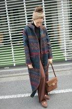 WOOLRICH(ウールリッチ)グアテラマ織 フーデッドコート