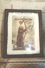 19世紀 フランスアンティーク絵画キリスト
