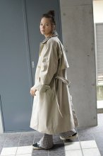 Burberrys(バーバリー)ステンカラーコート チェック襟