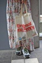 ドイツ エコバッグ PENNY(スーパーマーケット)RED