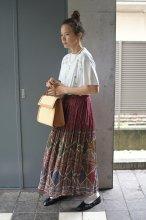 90s LEENASTUDIOインド綿スカート