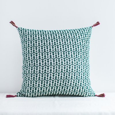 jamini・cushion ashu light green