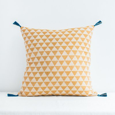 jamini・cushion alice mastard yellow